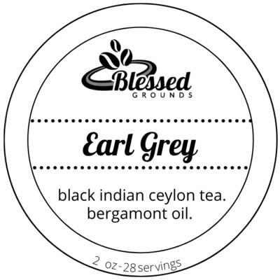 Tea Tin - Earl Grey