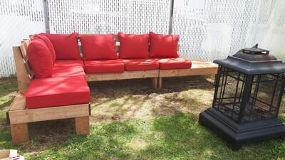 Sofa extérieur modulable (plan seulement)