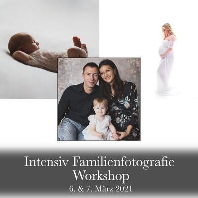 2-tägiger Intensiv Familienfotografie Workshop 6. & 7. März 2021