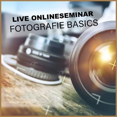 Aufzeichnung Onlineseminar Fotografie Basics