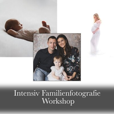2-tägiger Intensiv Familienfotografie Workshop 5. & 6. Juni 2021