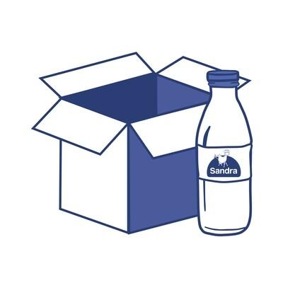 Caja Leche ENTERA (6 botellas)
