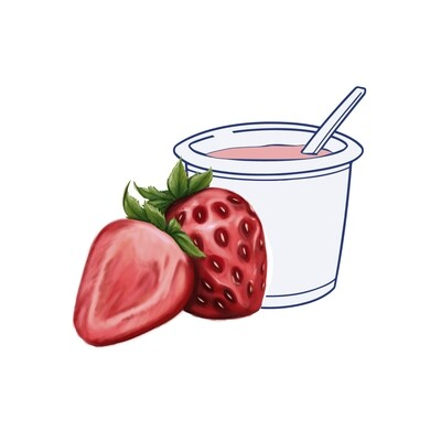 Yogur Fresa 500 gr.