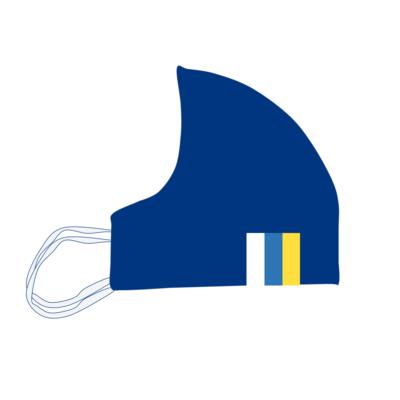 Mascarilla Homologada Reutilizable Bandera Canaria 36 lavados (UNE0065) - Adulto