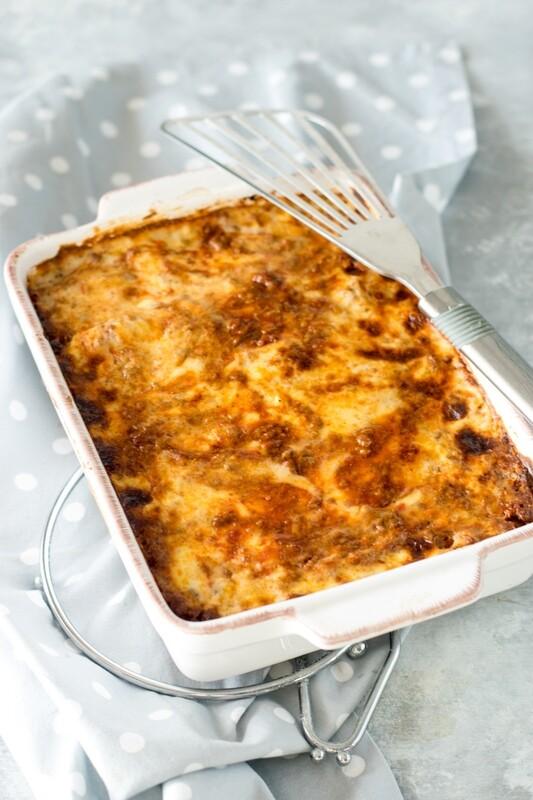 Lasagne al Forno - Teglia per 4 Persone