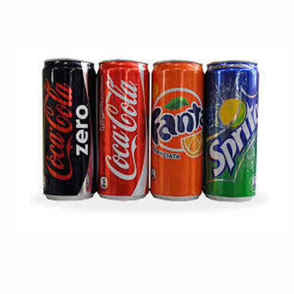 Coca Cola - Sprite - Fanta - Coca Zero