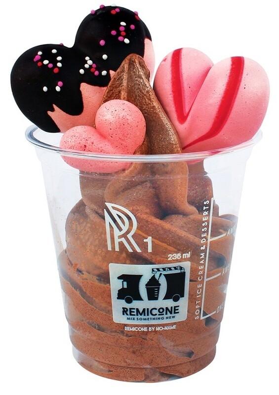 Heartringue Choco Soft Serve Ice Cream