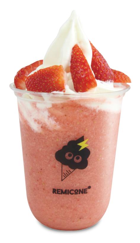 Strawberry Ice Cream Smoothie