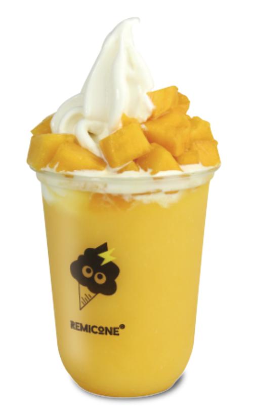 Mango Ice Cream Smoothie