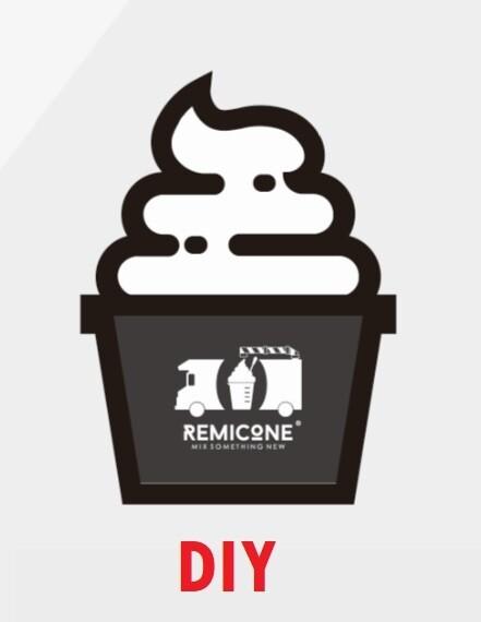 DIY Soft Serve Ice Cream (Paper Cup)