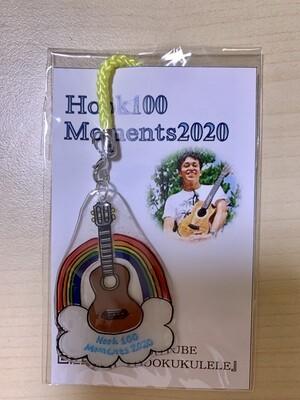 Hook 100 Moments 2020年度記念ストラップ(イエロー)