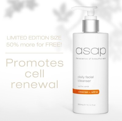 ASAP Daily Facial Cleanser 300ml