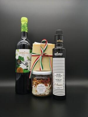 Risotto Paprikaschoten, Tomaten, Oregano
