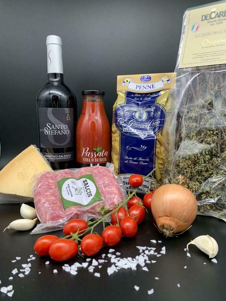 "Kochbox ""Pasta alla Toscana"""