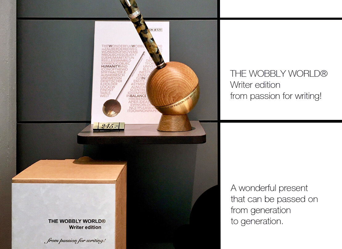 THE WOBBLY WORLD®  Writer edition