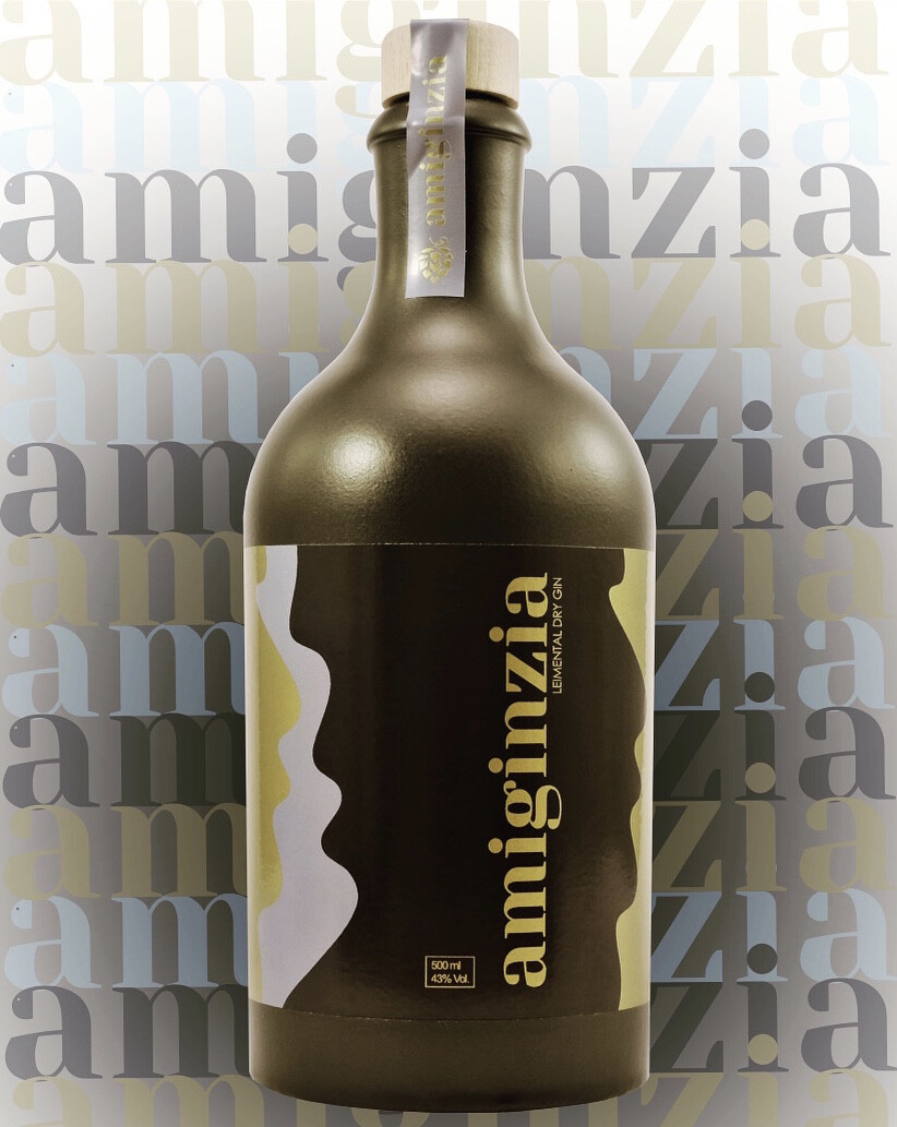 amiginzia - Gin auf Bierbasis