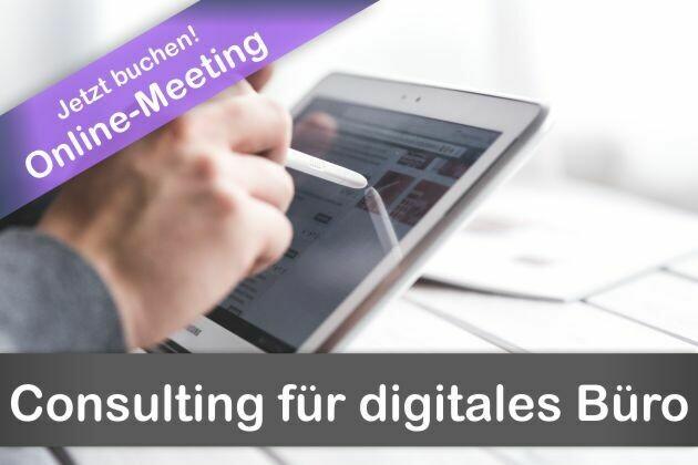 Consulting für digitales Office