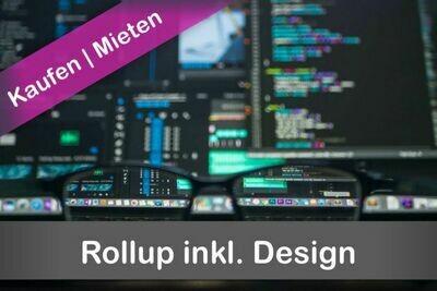Rollup inkl. Design