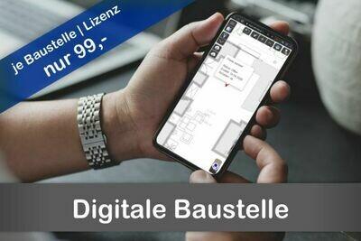 #Digitale Baustelle – jetzt um 99,- / Lizenz / Baustelle
