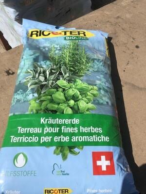 terreau pour herbes aromatiques 15 l