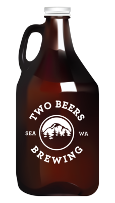 Immersion Amber - 64 oz Growler