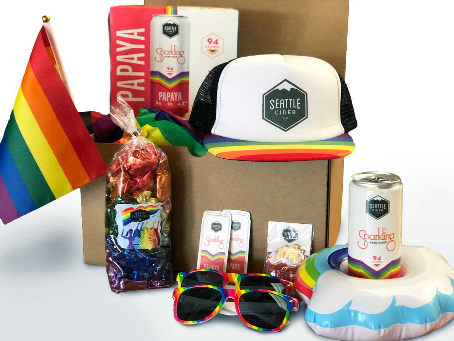Deluxe Papaya Pride Party Pack