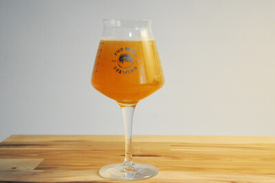 Two Beers Brewing Co. Topo-Teku Glass