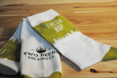 Two Beers Brewing Co. Fresh Hop Socks