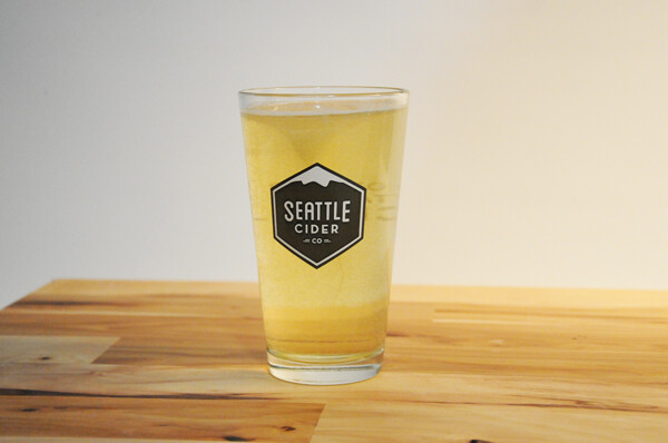 Seattle Cider Pint Glass
