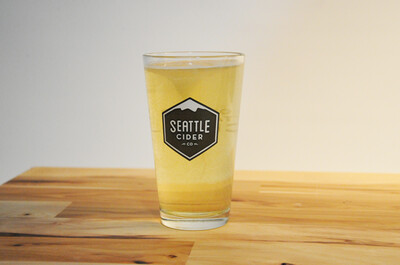Seattle Cider Co. Pint Glass