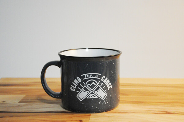 Two Beers Brewing Co. Climb for a Cause Mugs