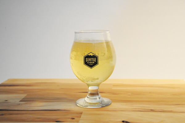 Seattle Cider Tulip Glass - 13oz