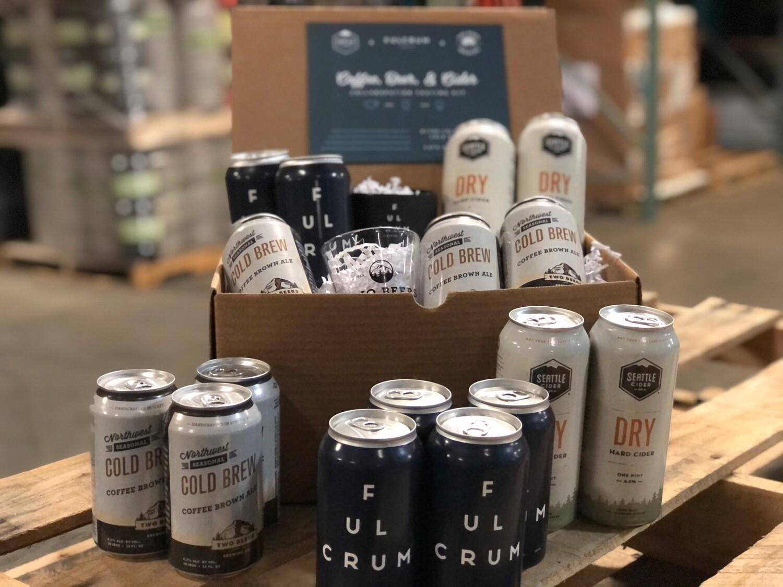 Coffee, Beer, & Cider Collaboration Tasting Kit