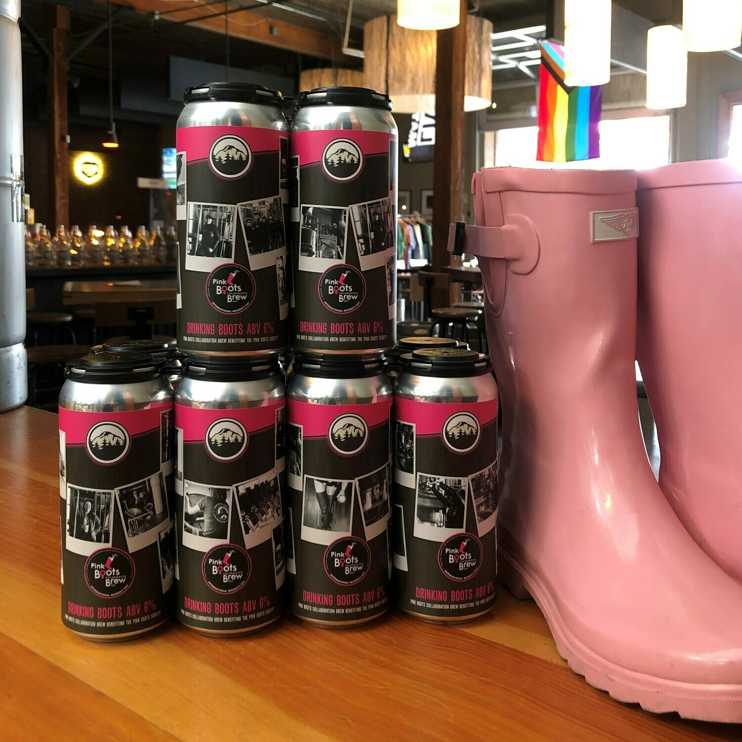 Pink Boots 4-Pack