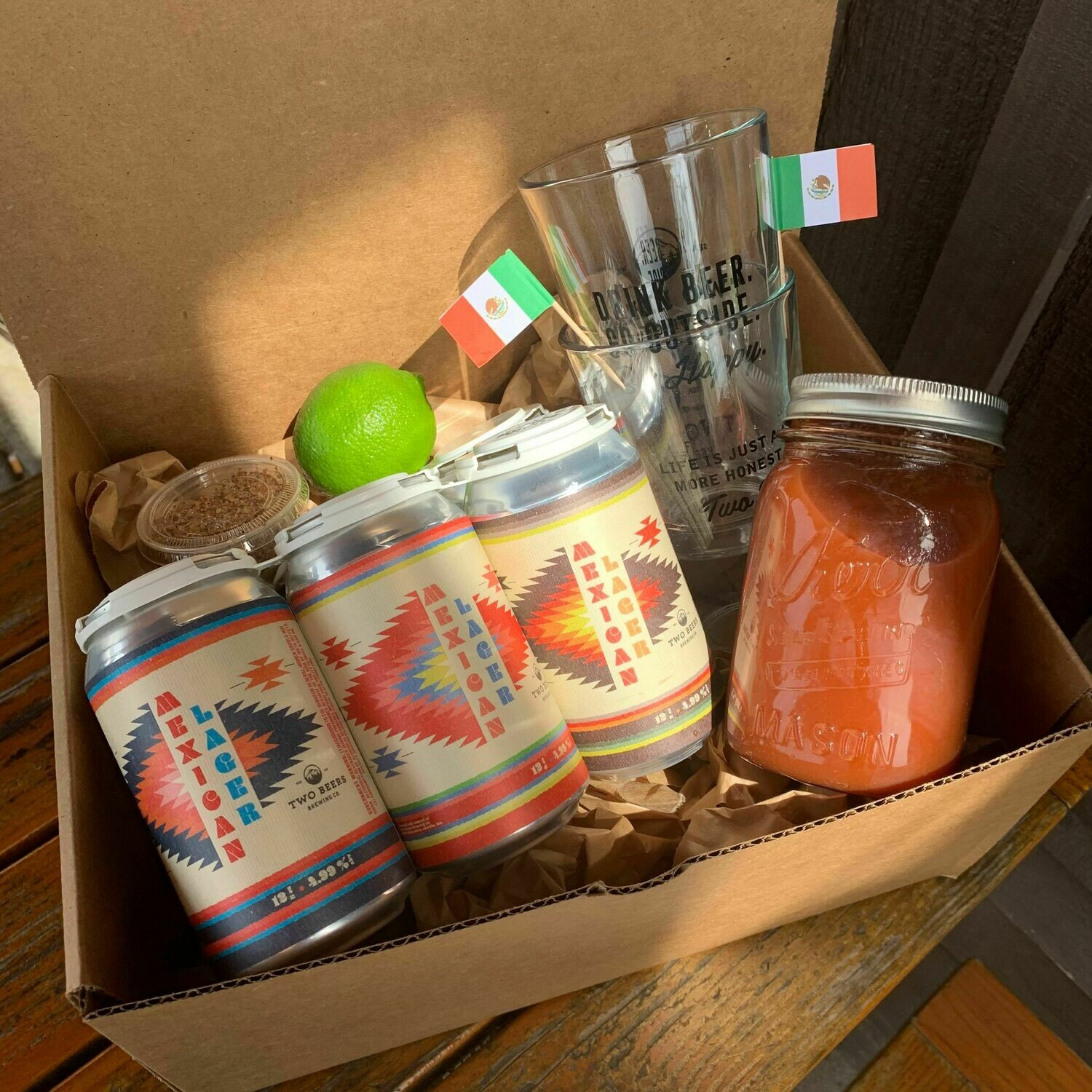 Mexican Lager Michelada Kit - Makes 6 Drinks!