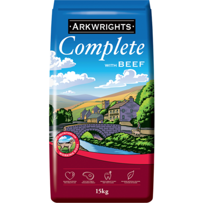 Arkwrights Complete Dog Food Beef
