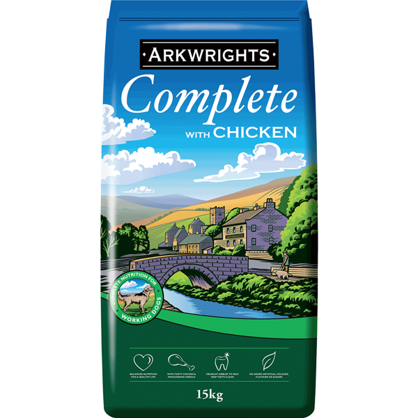 Arkwrights Complete Dog Food Chicken