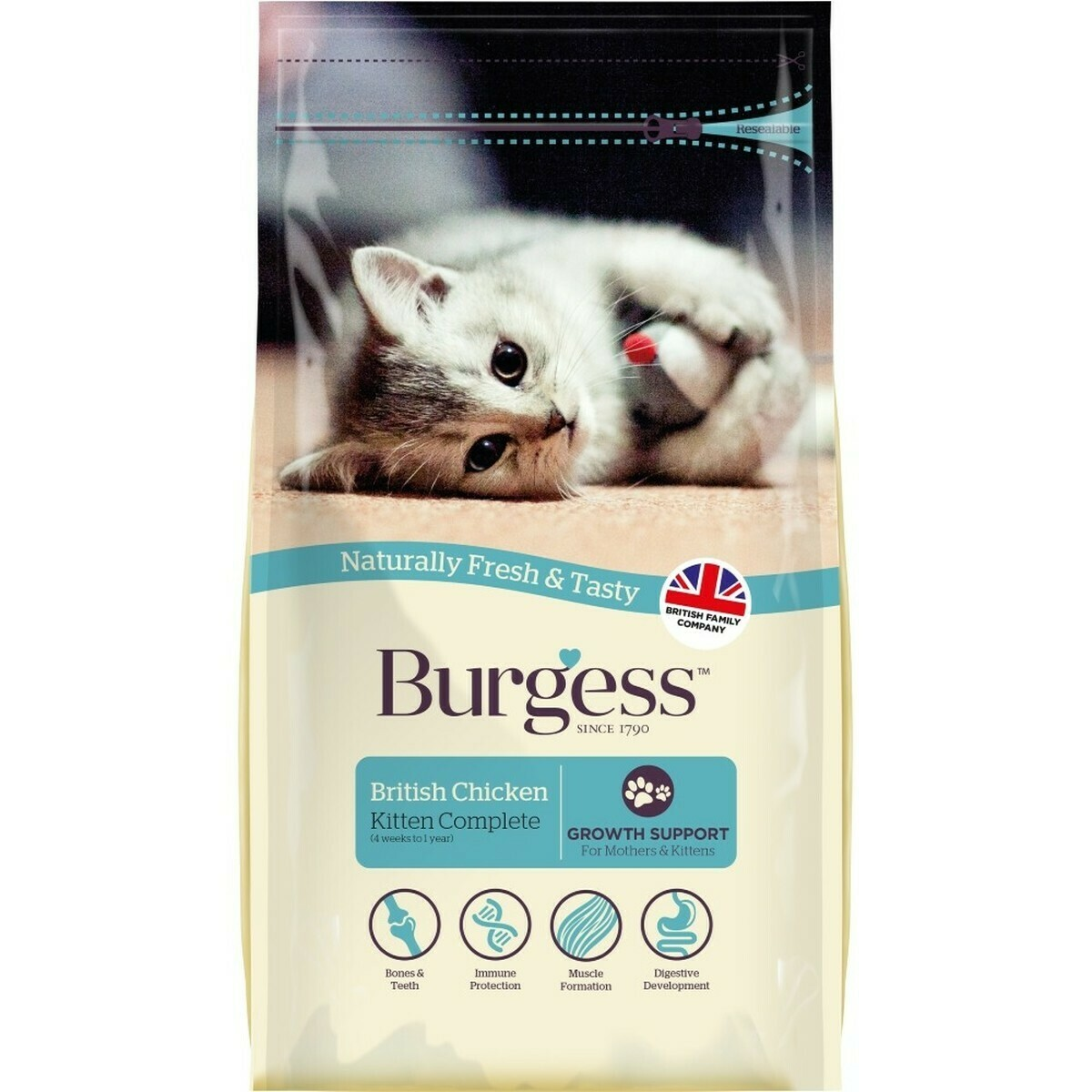 Burgess Kitten Cat Feed