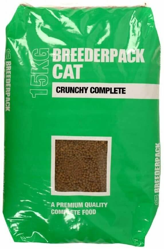 Breederpack Crunchy Complete Cat Food
