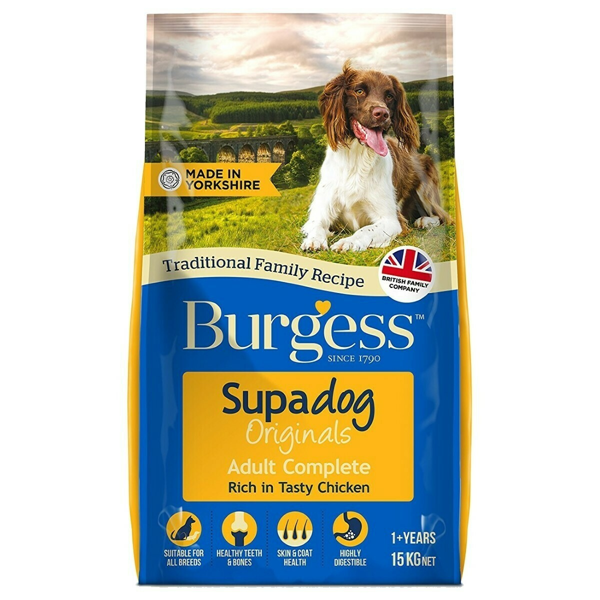 Burgess Supadog Adult Dog Food Chicken