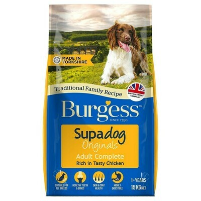Burgess Supadog Adult Dog Food Chicken