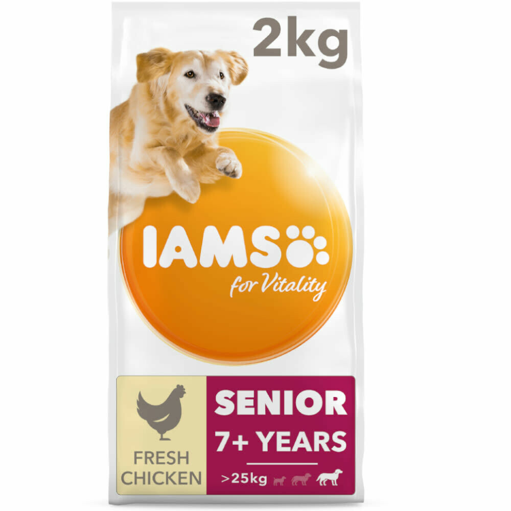 IAMS Vitality Senior Cat Food with Fresh Chicken
