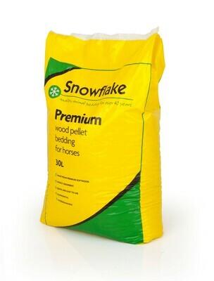 Snowflake Premium Equine Wood Pellets