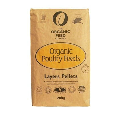 A&P Organic Layers Pellets