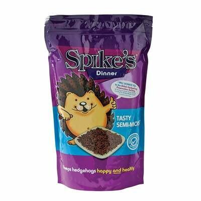 Spikes Tasty Semi Moist Hedgehog Food
