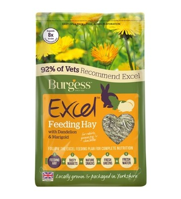 Burgess Excel Herbage Dandelion and Marigold