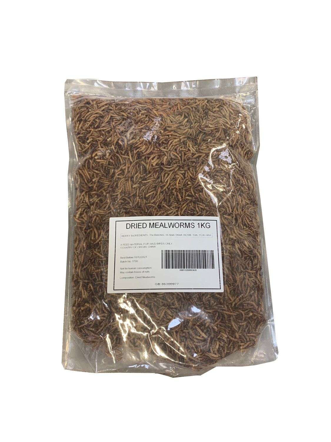 Thompsons Mealworms