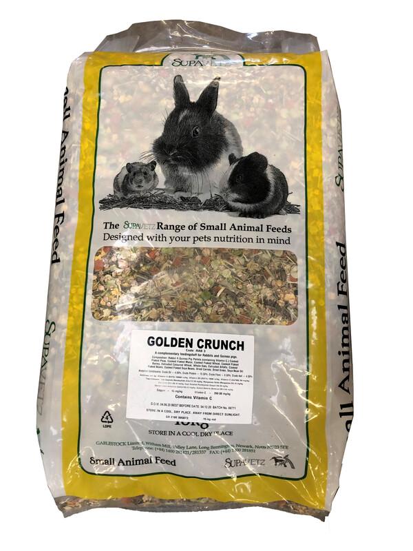 Golden Crunch Rabbit Food