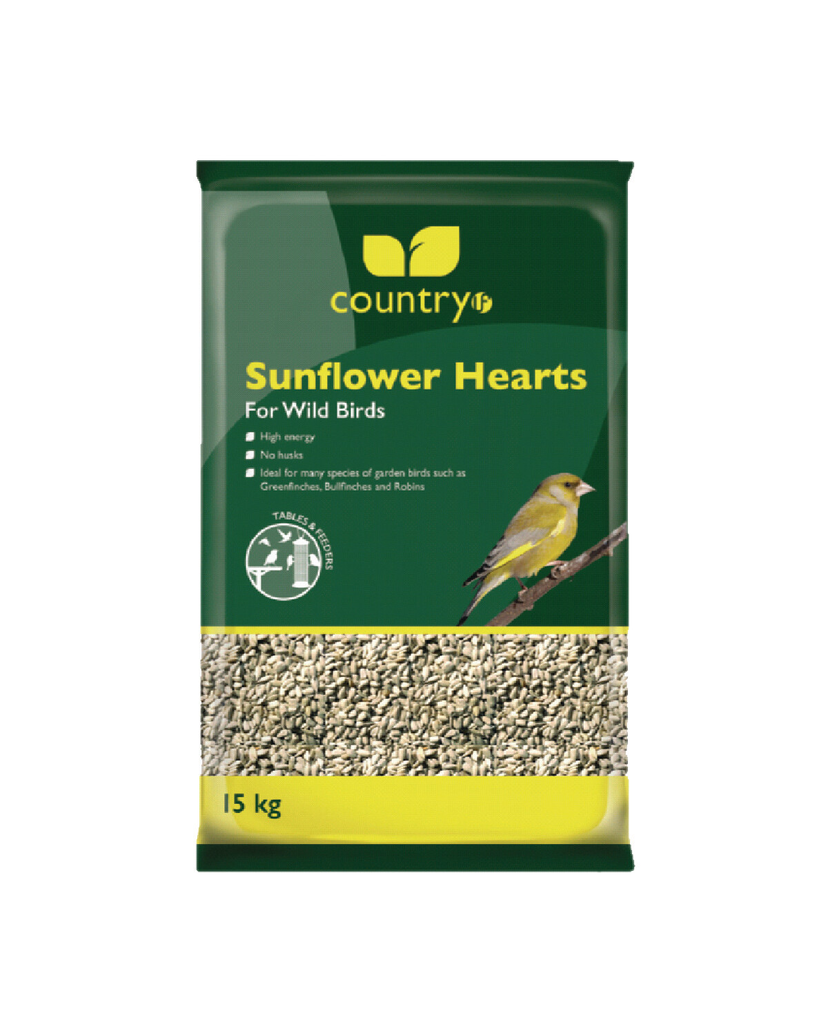 Country Sunflower Hearts