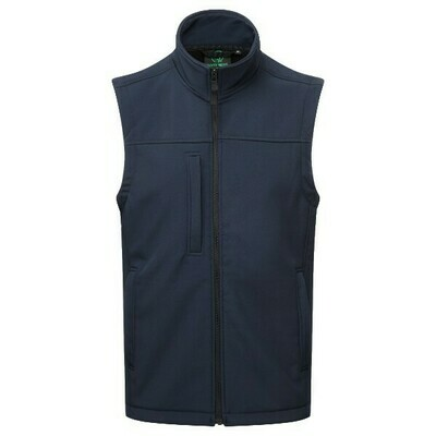 Castle Breckland Soft Shell Gilet Navy